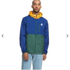 Men dc windbreaker